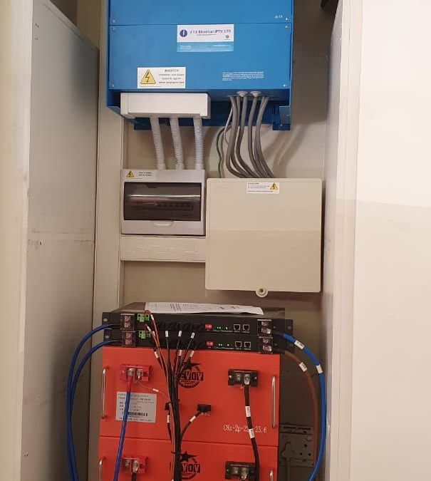 Pretoria Installation with Revov's new 220Ah Storage Solution